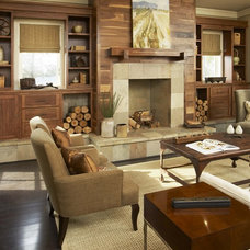 Contemporary Living Room by Johnston Design Group