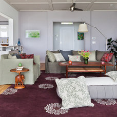 Contemporary Living Room by Natasha Barrault Design