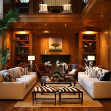 Traditional Living Room by Morrow and Morrow Corporation