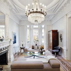 Eclectic Living Room by JP Warren Interiors