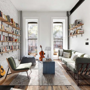 Clinton Hill Townhouse Living Room