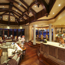 Traditional Living Room by Hungeling Design, LLC