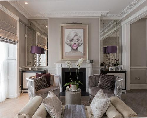 Marilyn monroe houzz for B q living room mirrors