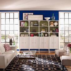 Contemporary Living Room by ClosetMaid