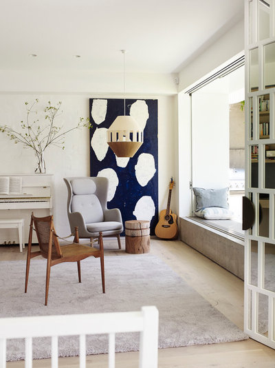 Contemporary Living Room by Madeleine Blanchfield Architects