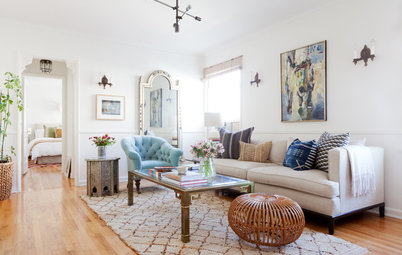 Room of the Day: Living Room Nods to Old Hollywood Glam