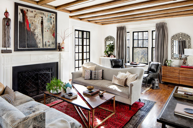 Mediterranean Living Room by STEPHANIE BRADSHAW