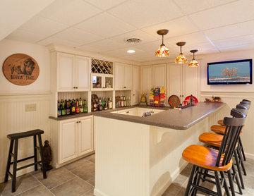 Clubroom with Bar