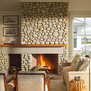 Custom Stone Fireplace Houzz