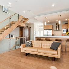 Modern Living Room by Left Bank Design