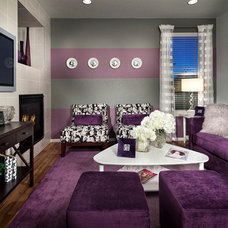 Contemporary Living Room by TRIO Environments
