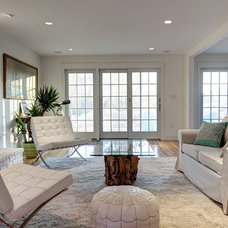 Transitional Living Room by Ikaria Living