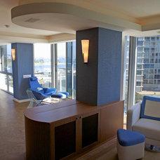Contemporary Living Room by Blue Desert Interiors