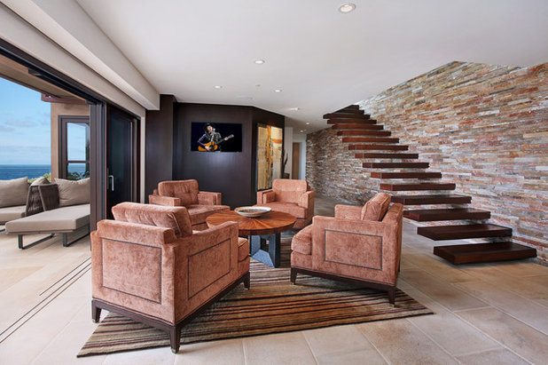 Contemporary Living Room by Studio 6 Architects