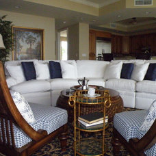 Beach Style Living Room by An Ambiance Interior