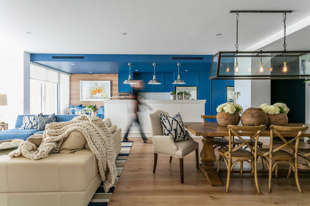 Beach Style Living Room by Adam Scougall Design