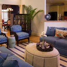 Beach Style Living Room by Jane Ann Maxwell