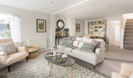 7 Ideas for Using a Gray Carpet in Your Living Room