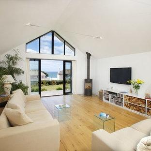 Idee per un soggiorno stile marinaro