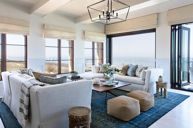 Beach Style Living Room by Intimate Living Interiors