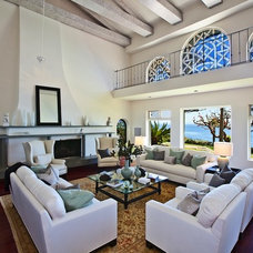 Beach Style Living Room by Meridith Baer Home