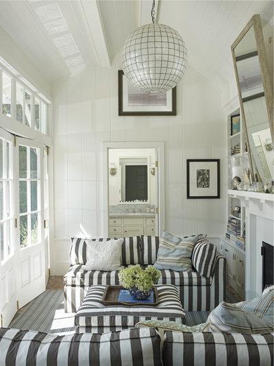 Beach Style Living Room by Penguin Random House, LLC