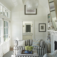 eclectic living room by Random House