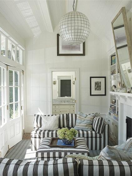 Beach Style Living Room by Random House