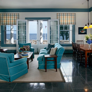 75 Beautiful Turquoise Living Room Pictures Ideas September 2020 Houzz