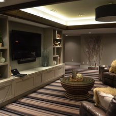 Transitional Living Room by The Design Source Ltd