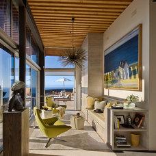 Contemporary Living Room by Studio Schicketanz