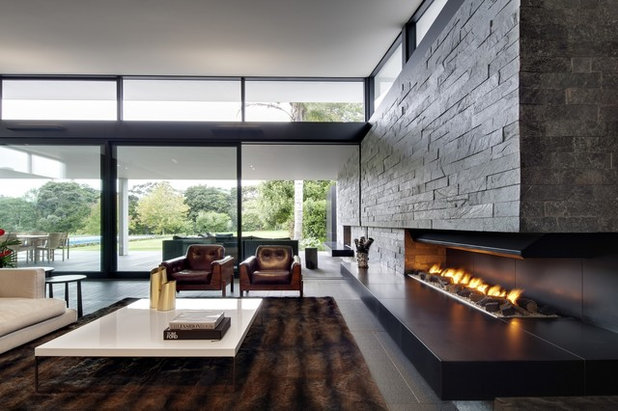 Contemporary Living Room by Ponting Fitzgerald
