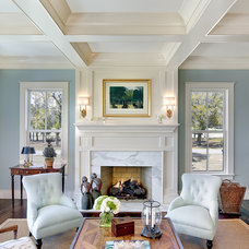 Traditional Living Room by Structures Building Company