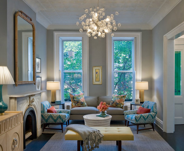 Contemporary Living Room by Francis Dzikowski Photography Inc.