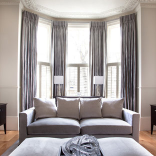 Curtains With Blinds Living Room Ideas Photos Houzz