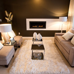 modern living room by Wendinteriors