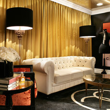 Contemporary Living Room Coco Chanel Sitting Room