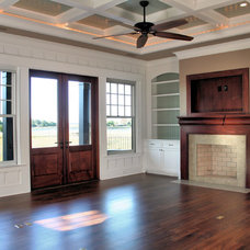 Contemporary Living Room by Sea Island Builders LLC