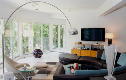 My Houzz: Mod Chic for a Midcentury Riverfront Home