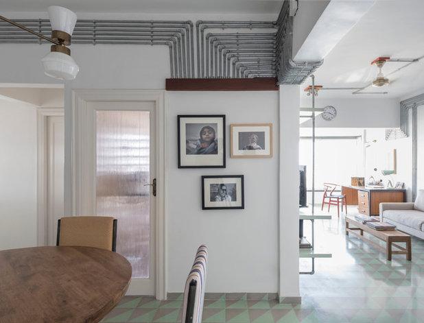 Contemporary Living Room by ravi vazirani design studio
