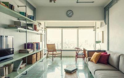 Mumbai Houzz: A 900-Sq-Ft Colaba Home Gets a Retro Makeover