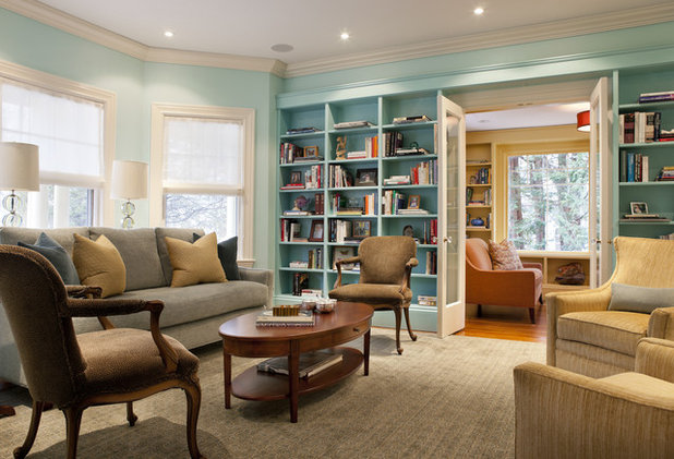 Eclectic Living Room by LDa Architecture & Interiors
