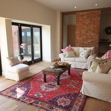 Traditional Family Room by Collette Hanlon Home Stagers