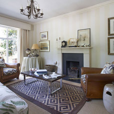 Contemporary Living Room by Collette Ward Interiors