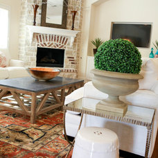 Traditional Living Room by DecRenew Interiors