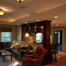 Traditional Living Room by Michael Hally Design, Inc