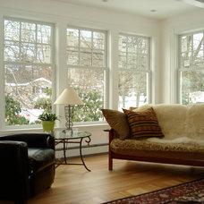 Traditional Living Room by Kempton Construction LLC,