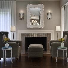 Modern Living Room by AMW Design Studio