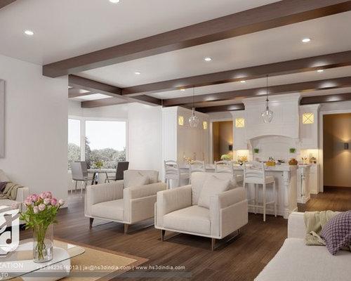 Example Of A Minimalist Living Room Design In Salt Lake City