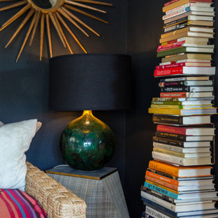 Color, Dramatic Lighting and Pattern Energize a Rental Home